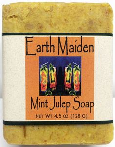 Mint Julep soap by Earth Maiden is incredibly sweet-smelling and refreshing. Fragrant Valencia orange and spearmint abound. This…