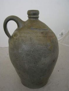 shopgoodwill.com: Likely Antique Stoneware Ceramic Jug