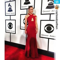 @CarissaLoethen Gorgeous and glowing at the #grammys2016 💋 #makeupby @emilyhachebeauty Sponsored by #DreamOrganics #rosewater #beauty 💋
