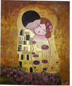 Pendientera: El Beso de Klimt