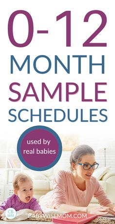 Get sample schedules for the entire first year! 0-12 Month Sample Baby Schedules Used by Real Babies. Babywise sample schedules for 0-12 month olds. Over 100 baby sleep schedules and routines to help your baby eat well, take great naps, and sleep through the night. #babyschedules #babysleep #babywise #babysampleschedules #samplebabyschedules #sampleschedules Baby Sleep Schedule, Toddler Schedule, Gender Reveal Announcement, Shawarma Recipe, Gender Reveal Themes, Baby Wise, Help Baby Sleep, Minimalist Baby, Preparing For Baby