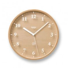 The Snow Wall Clock is a clean, simply designed clock that is a suitable accent for contemporary spaces. Crafted from solid plywood, the clock has a thin frame that blends subtly into the face of the clock. For a distinctive effect, the numbers—in a bold white font—are imprinted on the glass of the clock, which creates a light, airy quality within the piece. The numbers create subtle shadows on the plywood face, which gives the Snow wall clock an added dimension. This wall clock will provide…
