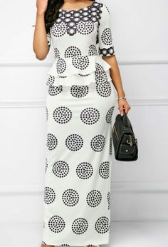 Cheap maxi Dresses online for sale African Attire, African Fashion Dresses, Dress Fashion, Long African Dresses, Fashion Top, Fashion Boots, Womens Fashion, Cheap Maxi Dresses, Casual Dresses