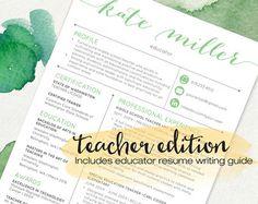 template for teacher resume