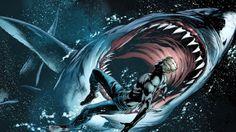 Dc comics sharks aquaman wallpaper