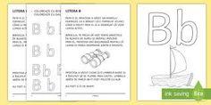 fisa cu litera b clasa pregatitoare – Căutare Google Bullet Journal, Personalized Items, Google, Full Bed Loft
