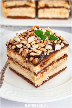 Snickers na herbatnikach - I Love Bake