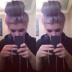I wish I could get a bun like this!