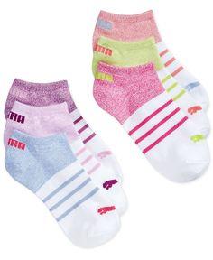 Puma Women's 6-Pk. No Show Socks