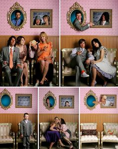 Guest Photo Booth - Great idea if you have the room to set this up. Your guests could have some real fun with it.