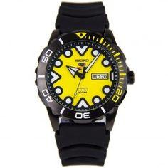 Seiko 5 Sports SRPA11 SRPA11K1 Automatic Rubber Strap 100m Watch