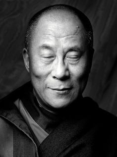 The Dalhi Lama by Clive Arrowsmith. #peace