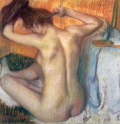 Renoir - Femme se coiffant
