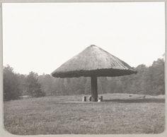 """""""Spala 1912"""" Abrigo de Palha em Spala."""