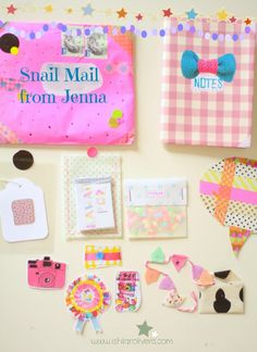 snail mail by Jenna Templeton for Ishtar