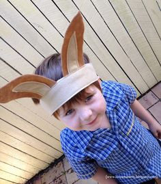 DIY Easter: Make your own Easter Bunny Ears!