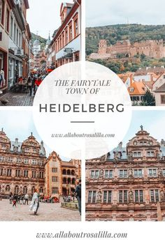 Wander the streets of Heidelberg with me and discover everything this delicious city has to offer. Read more on www.allaboutrosalilla.com #heidelberg #germany #europe #europeandestination