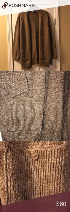 I just added this listing on Poshmark: Brown Open Front Knit Cardigan. #shopmycloset #poshmark #fashion #shopping #style #forsale #Karen Scott #Sweaters