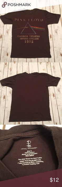 PINK FLOYD T-Shirt Nice and broken in rock t-shirt!  In great used condition.   Fits snug on 36C.  Pair this with jeans and a cool scarf and you're in business. ✌🏼😚 Tops Tees - Short Sleeve