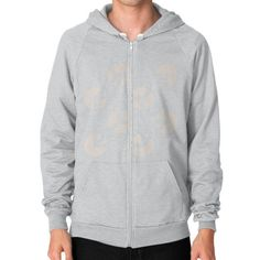 Use Your Illusion Zip Hoodie (on man)