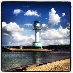 Lighthouse in Kiel - Germany
