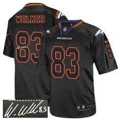 Wes Welker Elite Jersey-80%OFF Nike Autographed Wes Welker Elite Jersey at Broncos Shop. (Elite Nike Men's Wes Welker Lights Out Black Jersey) Denver Broncos #83 NFL Autographed Easy Returns.