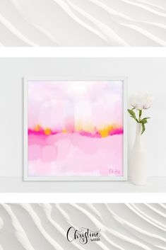 Watercolor Artist, Drawing, Illustration, Pink, Tapestry, My Love, Design, Etsy, Home Decor