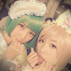 mariko  shinoda  in green