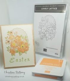 InsoireINK Blog Hop – Easter – Christine's Crafting by Christine Bettany
