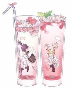 Yung mga nakain na Haikyuu, Noragami, Manga Anime, Anime Art, Desenhos Love, Chibi Food, Another Anime, Neverland, Anime Couples