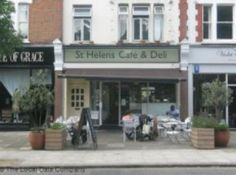 St Helen's Deli in St. Helen's Gardens - the closest coffee bar to the home. You can pick up milk, fresh bread, eggs and other staples for the home. Great breakfast and lots of freshly prepared salads and deli items.
