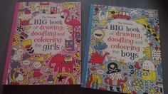 Pe care sa o alegem? Fie ca-i fetita sau baietel, orice copil ar fi incantat de aceste doua carti! Ore intregi de distractie garantate de o multime de activitati interesante! Pret: 99 lei fiecare redus de la 110 In stoc Coloring For Boys, Doodle Coloring, Orice, Lei, Drawings, Books, Libros, Book, Sketches
