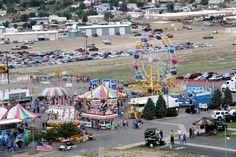 Brown's Amusements Carnival at Wyoming's Big Show