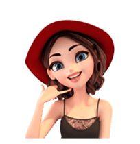 Little Rose by Yinxuan Li Dezarmenien sticker Love Cartoon Couple, Cartoon Girl Images, Cute Cartoon Pictures, Cute Cartoon Girl, Cute Love Pictures, Cartoon Art, Lovely Girl Image, Cute Girl Drawing, Disney Princess Pictures