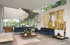 Zillow Digs - 11 examples of styling spaces around artwork