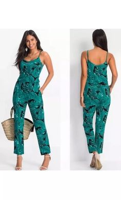 16ff13a5672c Ladies Summer Jumpsuit Sleeveless Playsuit Trousers Size New In Package