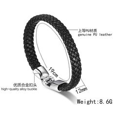 Vnox Braided PU Leather Bracelets for Men Bangle & Bracelet Fashion Men Jewelry Black Coffee White   Read more at The Bargain Paradise : https://www.nboempire.com/products/vnox-braided-pu-leather-bracelets-for-men-bangle-bracelet-fashion-men-jewelry-black-coffee-white/                       PACKAGE              1.Above Delivery Date Is Only For Reference, Sometimes Will Be Delayed By Holidays, Festivals, Bad Weather, Customs, Etc. 2. Post Air Mail To Eastern-European