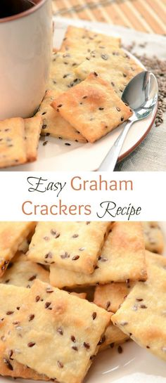 Easy Graham Crackers Recipe is a fast and no-fail snack that you and your kids will love. Crackers come out lightly sweet with a slight puff pastry texture.
