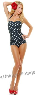 Love the vintage inspired (and modest) swimming suits at this site!