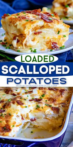 Potato Side Dishes, Vegetable Side Dishes, Vegetable Recipes, Veggie Food, Scalloped Potato Recipes, Easy Potato Recipes, Easy Comfort Food Recipes, Recipes With Potatoes, Potato Meals