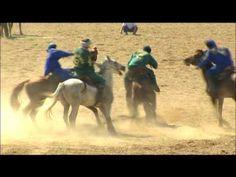 "The national kazakh game ""Kokpar"""