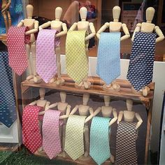 Creative tie holders