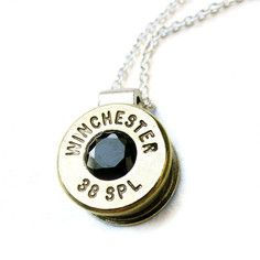 Winchester 38 Spec. Necklace II, $95, now featured on Fab.