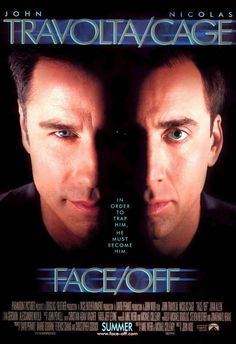 movie posters | Face/Off - movie poster