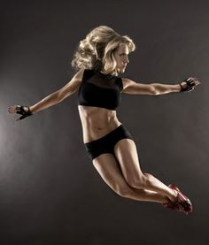 Anna Kaiser, creator of AKT INMOTION - check out her video as she breaks down her moves! (Shape Magazine)