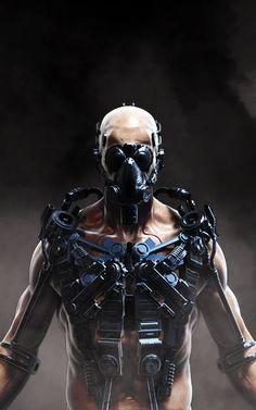 by Michael Michera via Cyberpunk More robots here.