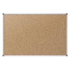 Quartet Economy Natural Cork Bulletin Board With Aluminum Frame 36 x 24 by Office Depot | $30