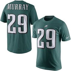 DeMarco Murray Philadelphia Eagles Nike Player Pride Name   Number T-Shirt  - Midnight Green d53aea7bb