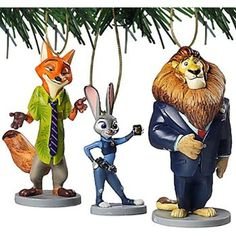 """#Christmas Where to purchase Disney Zootopia """"Nick Wilde, Judy Hopps & Mayor Lionheart"""" 3 pc Ornament Set for Christmas Gifts Idea Promotions . Before you decide to make a hard report on everything required to purchase this particular Christmas . Preparing just what you may acquire, choosing just how much you may spend, and also understanding..."""