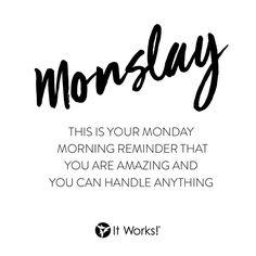 Monday To Do List:  ✅ Wake. ✅ Pray. ✅ Slay. ✅ Take on the day!  #MondayMotivation #KillinIt